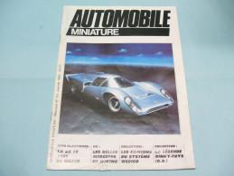 Magazine AUTOMOBILE MINIATURE N°10 Janvier 1985 - Littérature & DVD