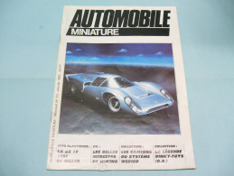 Magazine AUTOMOBILE MINIATURE N°10 Janvier 1985 - Literature & DVD