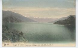 ITALIE - Lago Di Como - Panorama Del Lago , Visto Della Villa Serbelloni - Como