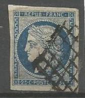 France - F1/012 - Type Cérès - N°4 - Obl. Grille - 1849-1850 Ceres