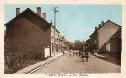 CPA - ANVIN (62) - Aspect De La Rue D'Hesdin En 1949 - Sonstige Gemeinden