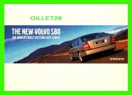 VOITURE DE TOURISME - VOLVO S80 - - Voitures De Tourisme