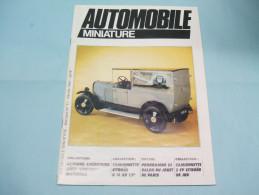 Magazine AUTOMOBILE MINIATURE N°11 Février 1985 - Littérature & DVD