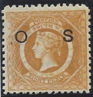 Colonie Anglaise, Nouvelle Galles Du Sud, Service, N° 93a Dentelé 10 - Grande-Bretagne (ex-colonies & Protectorats)