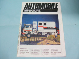 Magazine AUTOMOBILE MINIATURE N°12 Mars 1985 - Littérature & DVD