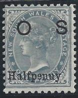 Colonie Anglaise, Nouvelle Galles Du Sud, Service, N° 30 * - Grande-Bretagne (ex-colonies & Protectorats)