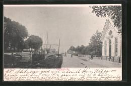 CPA Appelscha, Vue De La Rue Am Fluss - Ohne Zuordnung