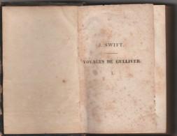 - Très Ancien Livre ( 1815/1820 )  260 Pages GULLIVER - 1801-1900