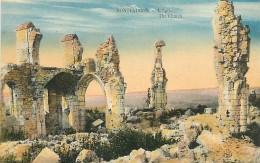 A 16 - 1097 -  MONTFAUCON - L'église - MILITAIRE - - Guerre 1914-18