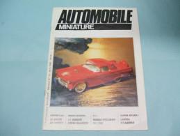 Magazine AUTOMOBILE MINIATURE N°13 Avril 1985 - Littérature & DVD