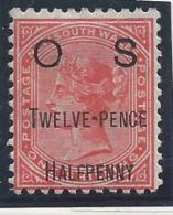 Nouvelle Galles Du Sud - Service - N° 34 * - Neuf Avec Charnière - Mint Stamps