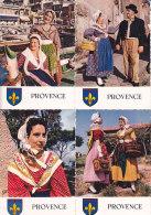 Av - 13 CPM Costumes, Blason PROVENCE (Arles, Marseille, ... - Costumes