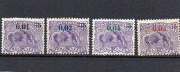 Guyane Française :  91/94 X (4 Timbres) - Nuevos