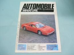 Magazine AUTOMOBILE MINIATURE N°14 Mai 1985 - Littérature & DVD