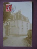 CPA PHOTO 39 ARBOIS ? RARE Vue D´une Maison Bougeoise 1910 ? écrite D´ ARBOIS - Arbois