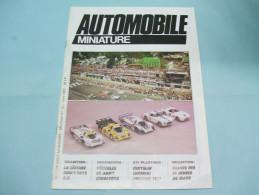 Magazine AUTOMOBILE MINIATURE Les 24 Heures Du Mans N°15 Juin 1985 - Littérature & DVD