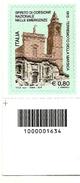 2015 - Italia 3606 Senso Civico - Codice A Barre - 6. 1946-.. Repubblica