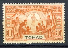 Tchad 1931 N. 58 C. 90 Arancio MNH Catalogo € 10