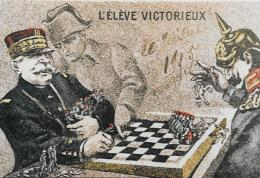 CPM Carte Moderne 10 X 15 Walt Kaiser Napoléon Non Circulé Echecs Chess - Chess
