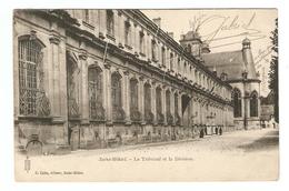 55 - MILITARIA SAINT MIHIEL LE TRIBUNAL ET LA DIVISION - ÉDITIONS G. COLIN -  PETIT CACHET MEUSE 1903 - 2 Scans - - Saint Mihiel