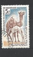 MAURITANIA 1963 Animals   ANIMALS The Dromedary Also Called The Arabian Camel (Camelus Dromedarius), USED - Mauritanië (1960-...)