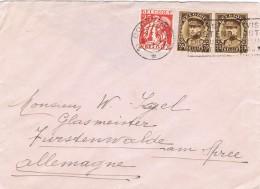 20048. Carta OOSTENDE (Belgien) 1934 To Allemagne - Bélgica
