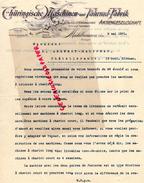 ALLEMAGNE - MUHLHAUSEN- LETTRE SIGNEE THURINGISCHE HASCHINEN UND FAHRRAD FABRIK- 1901 - 1900 – 1949