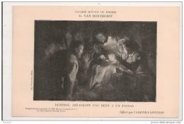 """DENTISTE  ARRACHANT Une  DENT A Un  PAYSAN,,,,,par  G.  VAN  HONTHORST,,,,offert Par """" AGENDA  GONNON """",,,TBE - Malerei & Gemälde"""