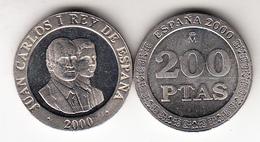ESPAÑA 2000    200 Pts. JUAN CARLOS Y FELIPE   NUEVA SIN CIRCULAR  CN4491 - [ 5] 1949-… : Kingdom