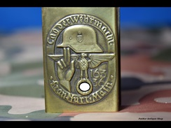 MATCHBOX COVER -trench Art -8 - 1939-45