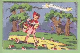 Le Petit Chaperon Rouge. Carte Système à Découpis Faisant Relief. 3 Scans. Edition J D A 661 - Contes, Fables & Légendes