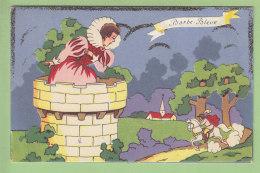 Barbe Bleue . Carte Système à Découpis Faisant Relief. 3 Scans. Edition J D A 661 - Contes, Fables & Légendes