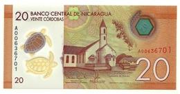 Nicaragua - 20 Cordobas 2014, - Nicaragua