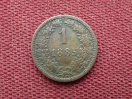 AUTRICHE Monnaie De 1 Kreuzer 1840 Superbe état - Autriche