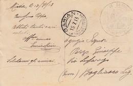 10756-GARIAN(TRIPOLITANIA)-1913-IL MERCATO DI VIMINI PER LE STUOIE - EX COLONIE ITALIANE-FP - Storia Postale