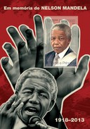 SAO TOMÉ AND PRÍNCIPE SHEET. EM MEMORIA DE NELSON MANDELA. TRIBUTE TO NELSON MANDELA. 2014. PERFORADO NUEVO. - Sao Tome And Principe