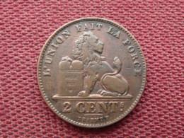 BELGIQUE Monnaie De 2 Cts 1909 - 02. 2 Centimes