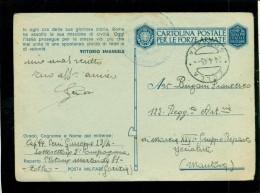 FRANCHIGIA-POSTA MILITARE  - DA ZOLLA  PER MANTOVA - Guerra 1939-45