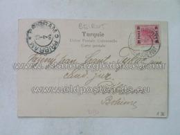 Philatelie 136 Bethleem Pribram Osterr Post Beirut - 1858-1921 Impero Ottomano