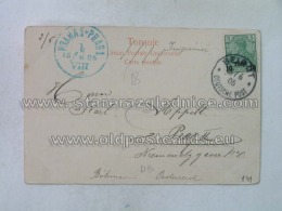 Philatelie 141 Beirut Praha Prag Deutsche Post - 1858-1921 Impero Ottomano