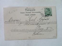 Philatelie 142 Damas Beirut Deutsche Post - Storia Postale