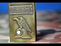 MATCHBOX COVER -trench Art -NURNBERG -11 - 1939-45
