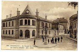 33  BORDEAUX  LE CONSEIL DE GUERRE  -  LA CASERNE BOUDET - Bordeaux