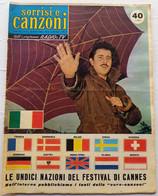 SORRISI CANZONI TV -Settimanale Di  Canzoni - N. 11 DEL Marzo 1959  ( 161116) - Musique