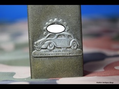 MATCHBOX COVER -trench Art -volkswagenwerk -14 - 1939-45