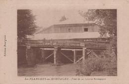 39 LES PLANCHES EN MONTAGNE PONT DE LA SCIERIE BOURGEOIS - France
