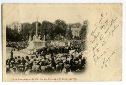 Inauguration Du Calvaire Des Bretons à N.-D. De LOURDES - Lourdes
