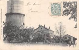 10 - AUBE - Gares Et Chemin De Fer / Villenauxe - La Gare - Beau Cliché Précurseur - France