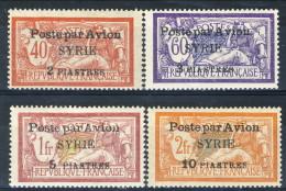 Siria Posta Aerea 1924 Serie N. 18-21 MLH Catalogo € 24 - Poste Aérienne