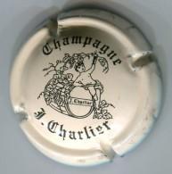 CAPSULE-CHAMPAGNE CHARLIER J N°06 Crème & Noir - Charlier